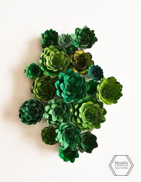 Papieren vetplant made by NooKs